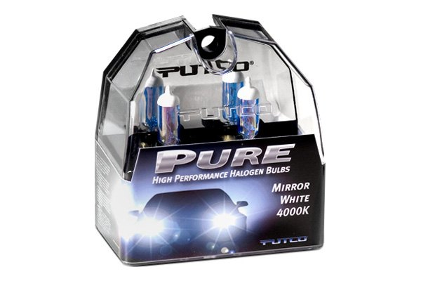 Putco® - Mirror White 4000K (Kelvin) Halogen Replacement Bulbs