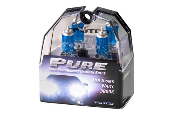 Putco® - Ion Spark White 3800K (Kelvin) Halogen Replacement Bulbs