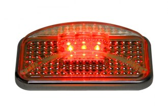 Putco® 900002 - LED Side Markers (Red Light, Clear Lenses)