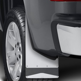 Putco® - Rubber Mud Flaps with Stainless Steel Trim