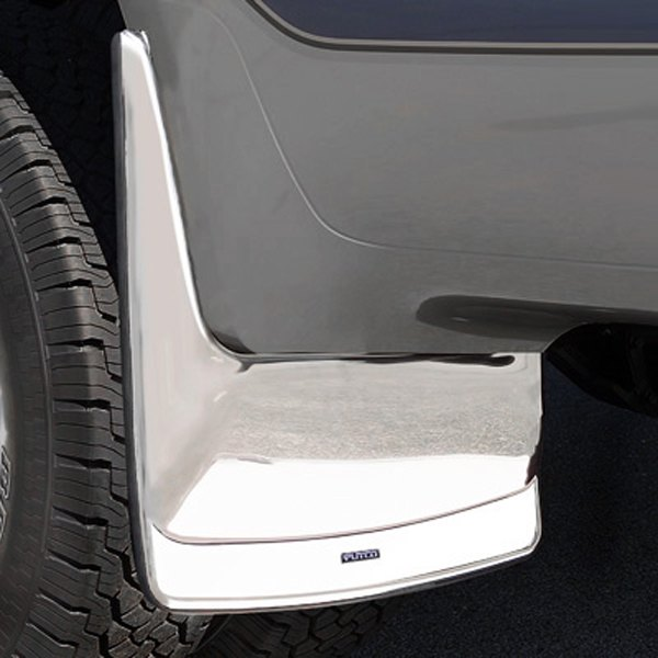 Image may not reflect your exact vehicle! Putco® - Form Fitted Rear Dually Mud Skins
