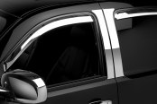 Putco® - In-Channel Element Chrome Window Visors