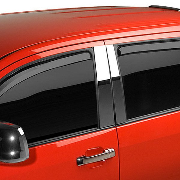 Image may not reflect your exact vehicle! Putco® - In-Channel Element Tinted Window Visors