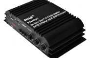 Pyle® - Class-T Hi-Fi Audio Amplifier with AC Adapter