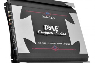 Pyle® - Chopper Series Class AB 2-Channel 1400W Mosfet Amplifier