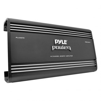 Pyle® - Chopper Series Class AB 4-Channel 4000W Mosfet Amplifier