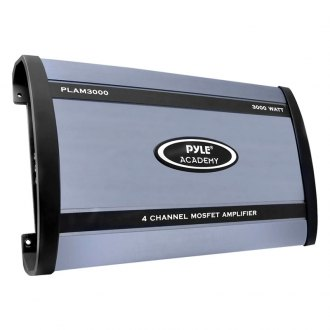 Pyle® - Academy Series Class AB 4-Channel 3000W Amplifier
