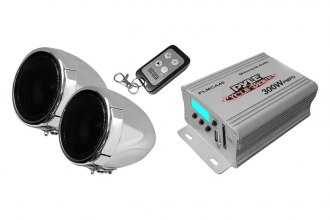 Pyle® - Class AB 2-Channel 300W Motorcycle/ATV/Snowmobile Mount MP3/iPod/USB Amplifier