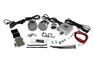 Pyle® - Class AB 2-Channel 600W Motorcycle/ATV/Snowmobile Mount Amplifier