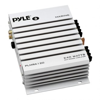 Pyle® - Marine 2-Channel Bridgeable Waterproof 240W Amplifier
