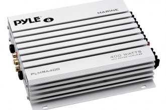 Pyle® - Marine 4-Channel Bridgeable Waterproof 400W Amplifier