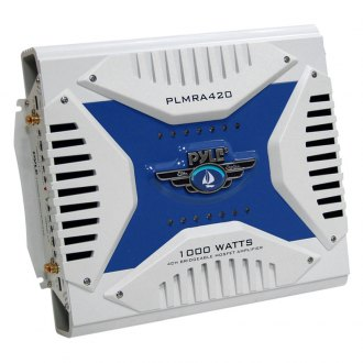 Pyle® - Marine 4-Channel Bridgeable Waterproof 1000W Amplifier