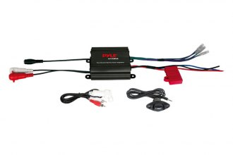 Pyle® - Marine 2-Channel Waterproof Micro 400W Amplifier