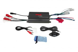 Pyle® - Marine 4-Channel Waterproof Micro 800W Amplifier