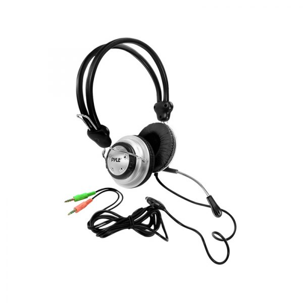 Pyle® - Stereo PC Multimedia Headset/Microphone