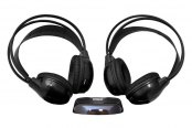 Pyle® - Dual Wireless Mobile Video Stereo Headphones with IR Transmitter