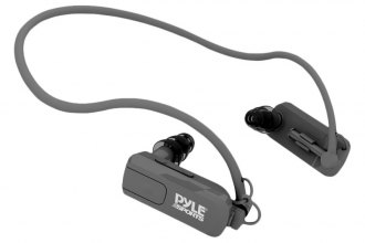 Pyle® - Waterproof Neckband Headphone with Built-in 4GB MP3 Player
