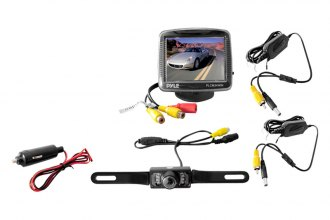 Pyle® - 3.5'' TFT Monitor with Rear View Back up Camera