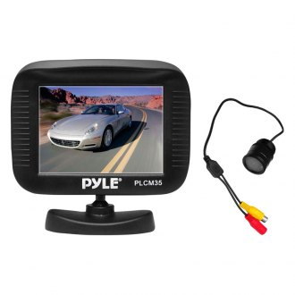 "Pyle® - 3.5"" TFT Digital Monitor with Night Vision Rear View Camera"