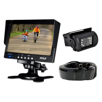 "Pyle® - 7"" LCD Color Monitor with Weatherproof Rearview Back Up Camera with 1 Back Up Camera"