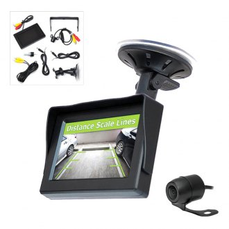 "Pyle® - 4.3"" TFT Monitor with Rear View Back Up Camera and Distance Scale Line"