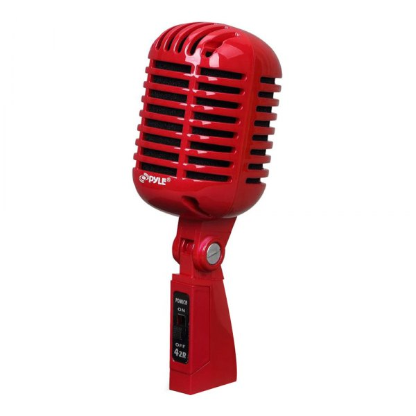 Pyle pdmicr42r classic retro dynamic vocal microphone for Classic house vocals