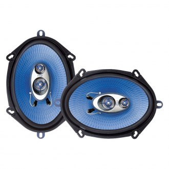 "Pyle® - 5"" x 7"" / 6"" x 8"" 3-Way Blue Label Series 300W Coaxial Speakers"