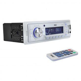 Pyle® - White AM/FM/MP3/USB/SD/Aux Stereo Receiver