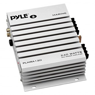 Pyle® - 2-Channel 240W Class AB Marine Amplifier