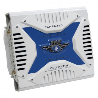 Pyle® - 4-Channel 1000W Class AB Marine Amplifier