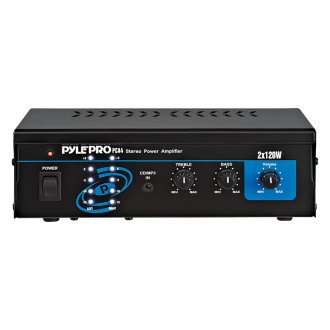 Pyle® - Mini 2 x 120W Stereo Power Amplifier (W/O USB and CD Input)
