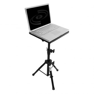 "Pyle® - 11"" x 14"" Pro DJ Laptop Tripod Adjustable Stand for Notebook Computer"