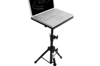 Pyle® - Pro DJ Laptop Tripod Adjustable Stand for Notebook Computer