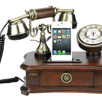 Pyle® - Authentic Classical Themed Home Telephone System