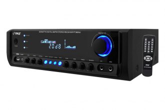 Pyle® - Digital Home Stereo Receiver System with USB Flash Reader