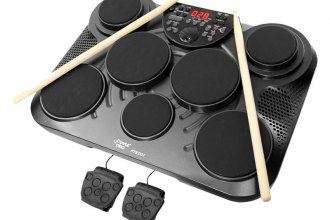 Pyle® - Electronic Table 7 Pad Digital Drum Kit Top