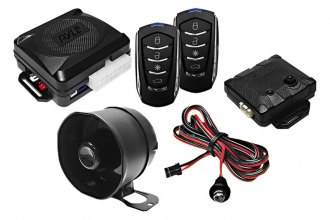 Pyle® - Door Lock Vehicle Security System With 4-Button Car Remote