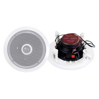 "Pyle® - 6-1/2"" 2-Way In-Ceiling 250W Speaker System with Titanium Dome Tweeter"