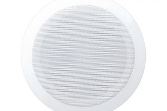 "Pyle® - 6-1/2"" 2-Way In-Ceiling 200W Speaker System with Polymer Dome Tweeter"