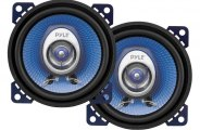 "Pyle® - 4"" 180W Blue Poly Injection Cone 2-Way Speakers"