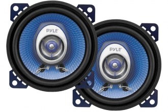 "Pyle® - 4"" Blue Poly Injection Cone 2-Way 180W Speakers"