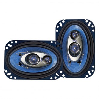 "Pyle® - 4"" x 6"" 3-Way Blue Label Series 240W Coaxial Speakers"