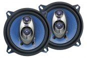 "Pyle® - 5-1/4"" 3-Way Blue Label Series 200W Coaxial Speakers"