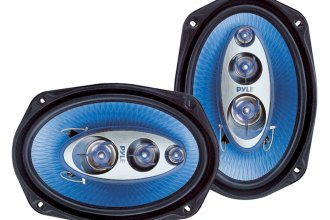 "Pyle® - 6""x9"" 400W Blue Poly Injection Cone 4-Way Speakers"