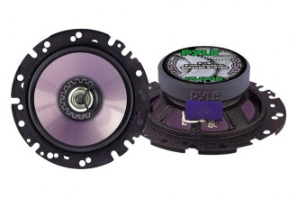 "Pyle® - 6.5"" Purple Color Injected Cone 2-Way Coaxial Speaker System"