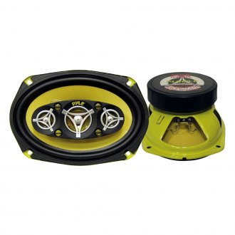 "Pyle® - 6"" x 9"" 8-Way GEAR Series 500W Coaxial Speakers"
