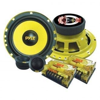 "Pyle® - 6-1/2"" 2-Way GEAR Series 400W Component Speaker System"