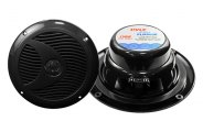 "Pyle® - 6.5"" 150W Dual Cone Waterproof Black Stereo Speakers"