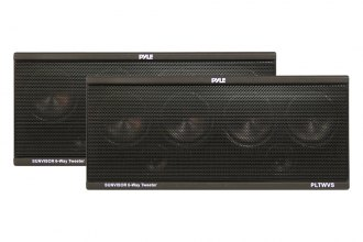 Pyle® - 6-Way Sunvisor Mount 200W Tweeter System