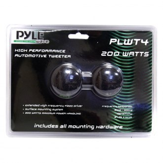 "Pyle® - 1-1/2"" Wave Series 200W Piezo Tweeters"